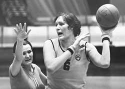 баскетболистка Ульяна Семенова