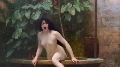 Картина «Истина, выбирающаяся из колодца», Жан-Леон Жером,1896